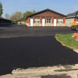 Commercial paving hotel parking